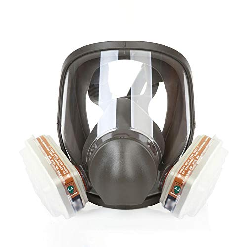 Anti-Toxic Comprehensive Tool, Full-face Mask, Spray Painting, Activated Carbon Mask, Dual Air Filter Element, Dust Chemical Mask,