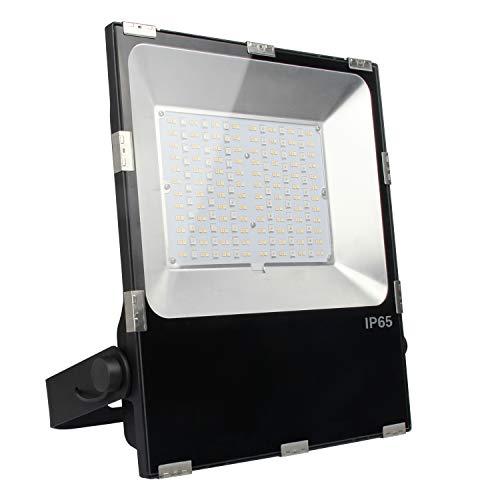 LIGHTEU® Milight Lampe de jardin RGBCCT 100W Couleur RVB avec changement entre blanc chaud et bland froid- Projecteur d'extérieur IP65 imperméable à l'eau Milight futt07