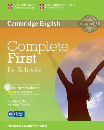 Complete First for Schools Student's Book with Answers with CD-ROM [Lingua inglese]