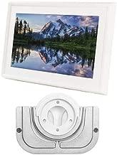 Meural Canvas - Leonora White Swivel Mount Frame Wall Mount