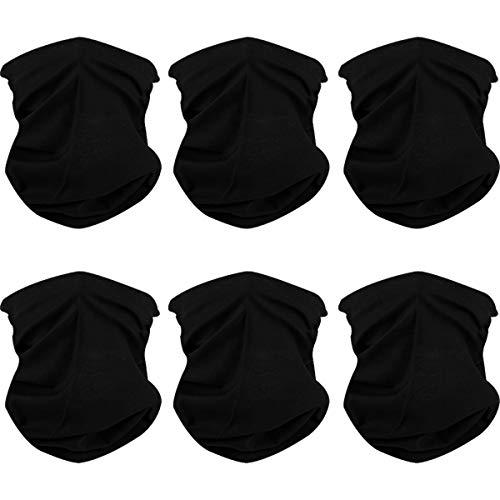 Naadloze multifunctionele doek hoofddeksels bandana sjaal 6 of 9 stuks elastische halsdoeken UV-bestendigheid hoofddoek Gamas bivakmuts gezichtsmasker motorfiets voor yoga lopen wandelen fietsen