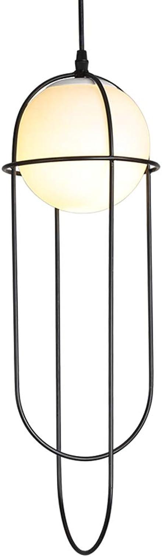 Cage Suspension Luminaire Suspendu Vintage Suspension Cage Luminaire Réglable Cordon Noir Pour La Cuisine à La Maison éclairage bande E27 dimmable ampoule Balck