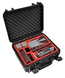 mc-cases® Compact Edition - Maletín de Transporte para dji Mavic Air 2 - Compatible con el Smart Controller de dji - Producto de Alemania
