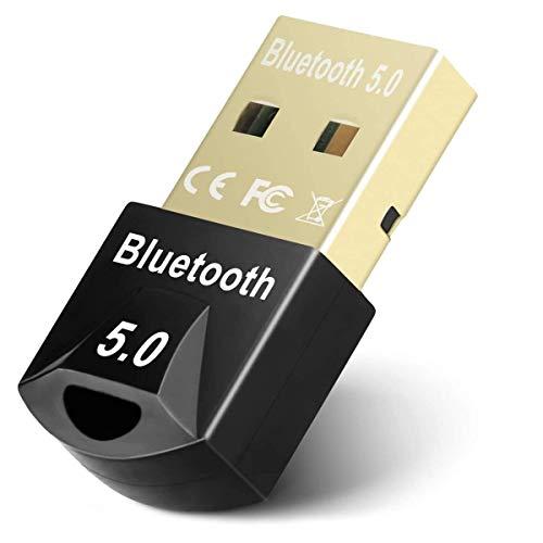 RMFC Bluetooth 5.0 Adapter, Mini Bluetooth Dongle Audio Transmitter...