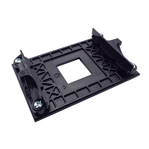 EC360® Bracket AMD AM4 Mainboard Halterung Sockel Retention Mount Modul CPU Backplate (schwarz)