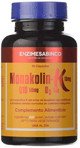 Enzime Sabinco Monakolin-K - Complemento Alimenticio, 30 Cápsulas
