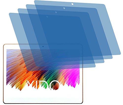 4ProTec I 4X Crystal Clear klar Schutzfolie für Xido X110 3G 2017 Premium Bildschirmschutzfolie Displayschutzfolie Schutzhülle Bildschirmschutz Bildschirmfolie Folie