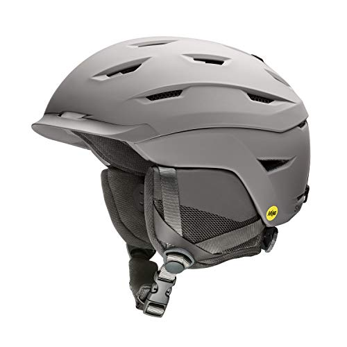 Smith Optics Level MIPS Snow Helmet (Matte Cloudgrey, X-Large 63-67cm)