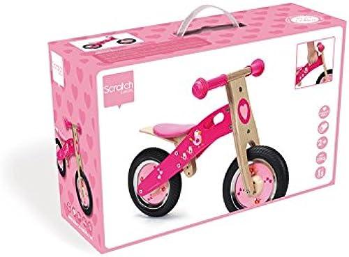 edición limitada Scratch - Bicicleta de Madera Madera Madera con pajaritos (6181426)  lo último