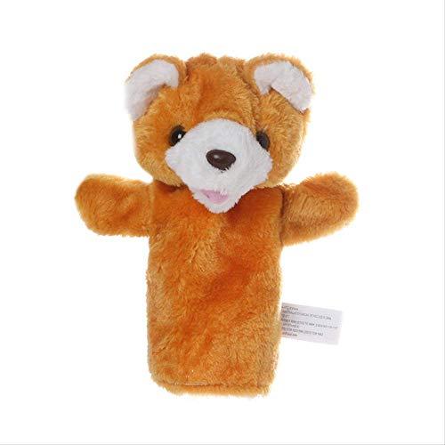 yywl Handpuppen Cartoon Tier Handpuppe Bauchredner Puppe Handschuh Kinder Handpuppe Spielzeug Weiche Kurze Plüsch Gefüllte Baumwolle Handspielzeug für Kleinkinder