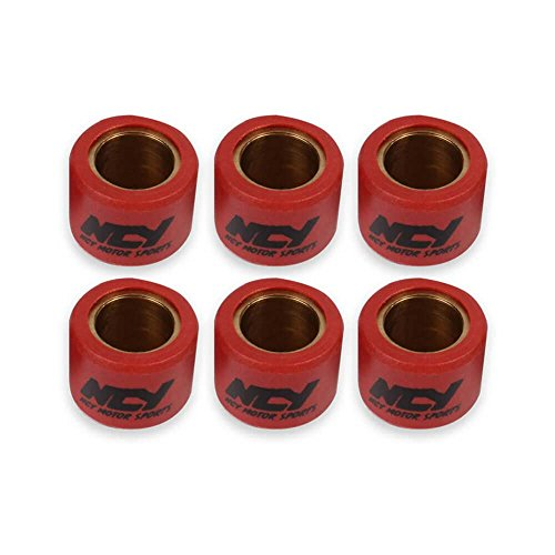 NCY [10 gram set] Variator Roller Weights (18 x 14) for GY6 and Genuine Scooters NCY