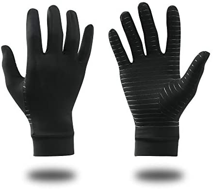 B Forest Copper Fit Gloves for Women and Men Fingerless Arthritis Gloves for Pain Relief of product image