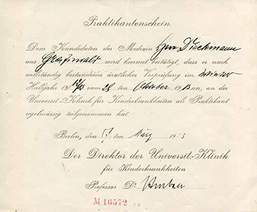 Johann Otto Leonhard Heubner original Autogramm/Autograph/signiert