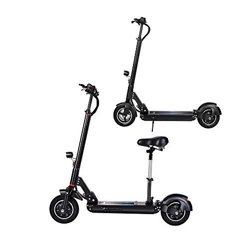 MSG ZY Dual Drive Elektroscooter/Elektrisches Fahrrad, mit Abnehmbarer Sitz, 10 Zoll 48V / 1200W/13AH, 55 Km/h Geschwindigkeit und 65 Km Reichweite, Erwachsener E-Scooter