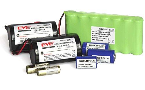 Visonic Powermax Complete Alarm Akku Saver Pack mit 0-9912-G, 0-9912-K & Sensoren - komplete mit 1 sirene batterie