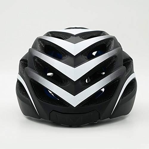 ZHXH Smart Fahrradhelm Smart Fahrradhelm Mit Wireless-Blinker Lenker Fern CPSC Und CE-Zertifiziert Fahrradhelm,Silber