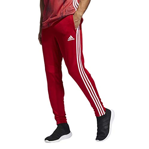 adidas Tiro19 - Pantalones de Entrenamiento para Hombre, Hombre, S1906GHTAN103, Power Red/White, Medium