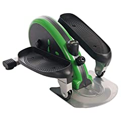 PORTABLE, QUIET AND EFFICIENT CARDIO: This mini strider is compact and lightweight, making it easy to use and transport to any home or office space. It's quiet and unintrusive, too. ADJUSTABLE TENSION WITH MONITOR: Vary the intensity of your workout ...