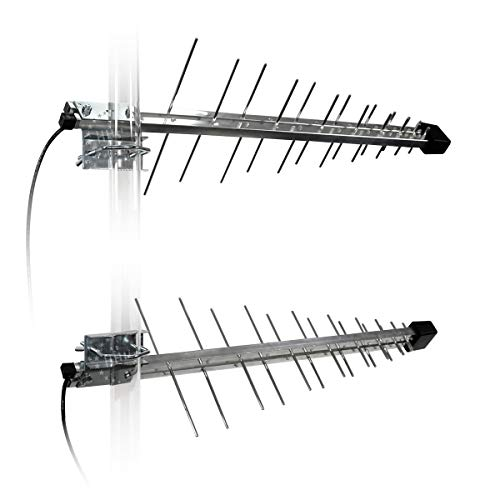 LTE-Paket für alle LTE Netze: LTE 800, LTE 1800 & LTE 2600 5G (LTE700 Ready) 7-9 dB(i) inkl. 1 Paar Universalantennen 32 Elemente 45° (3H-LTE-MIMO32)