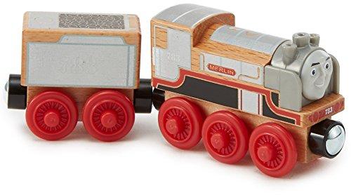 El Tren Thomas–Locomotora Merlin–Tren de Madera Juguete, fhm50
