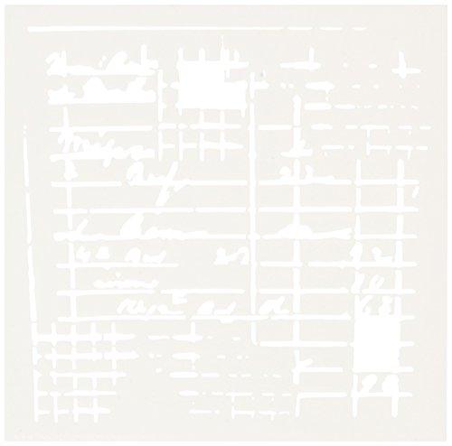 Crafters Workshop–Plantilla de Plástico Recibo de 15,2x 15,2cm