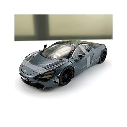 NMBD Berühmtes Automodell 1/24 Fast and Furious Film Cars Shaws McLAREN 720S Simulation Metall Diecast Modellautos Kinder Spielzeug
