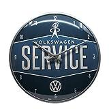 Nostalgic-Art 51079 Volkswagen - VW Service, Wanduhr 31cm