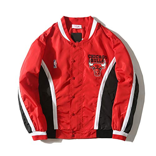 Chicago Bulls Warm Up Jacke Retro Coat Sweatshirt Hosen