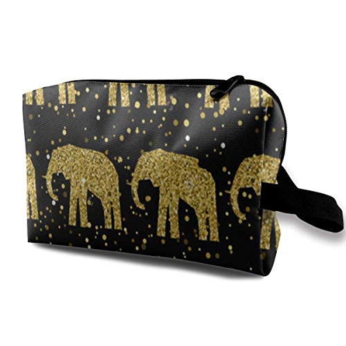 zmzm organizzatore di Borsa per Cosmetici Abstract Elephant Pattern Cosmetic Bag Makeup Bags for Women Travel Makeup Bags Roomy Toiletry Bag Accessories Organizer with Zipper