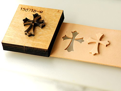 "Die Cutter for Leather, Paper, Cloth, etc. Laser Mold as Picture Size 45mm (1.77"")"