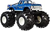 Hot Wheels Monster Trucks Bigfoot die-cast 1:24 Scale Vehicle with Giant Wheels for Kids Age 3 to 8 Years Old Great Gift Toy Trucks Large Scales