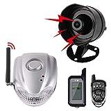 Autopmall Sistema di Protezione Allarme Auto Sicurezza 2 Way Remote System Allarme Senza Fili Allarme Scossa Allarme Senza Fili Nessuna Installazione
