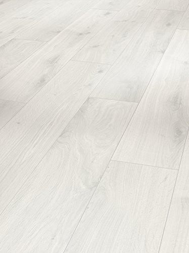 PARADOR Laminat Eiche kristallweiß Holz Struktur Landhausdiele Minifase