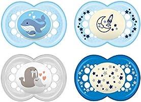 MAM 99970111 Day & Night Nappar, Blå, 16+ Månader, 4 st