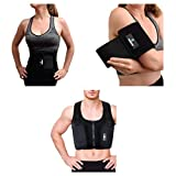 Isavera Fat Freezing System Bundle | Chest, Arms, & Stomach 'Freeze Fat' at Home | Cold Body Sculpting Shapers