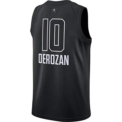 Outerstuff DeMar DeRozan Toronto Raptors #10 Black Youth 2018 All Star Swingman Jersey (Small 8)