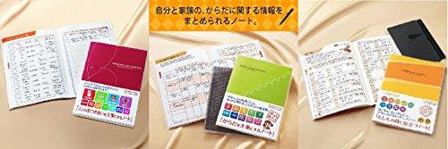 コクヨ 人生(おつきあい・からだ・エンディング)ノート 3冊セット