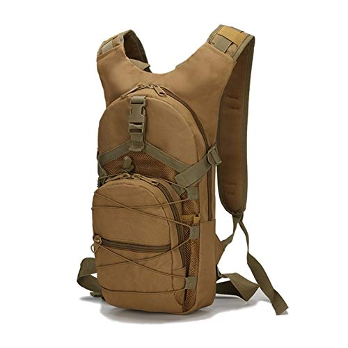 15L Backpack for Camping Bag Men Outdoor Travel Camo Backpack Women waterproof Hiking Rucksack (Color : KHAKI)
