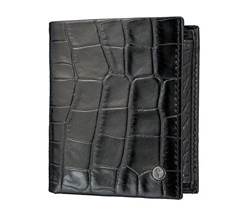JOOP! Daphnis Crocco BillFold V5 Black