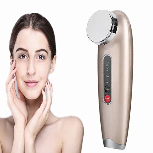 Anti-envejecimiento Masajeador facial Vibración iónica Aumento de los efectos de la crema facial y el suero Tighting Lifting Skin Care Device