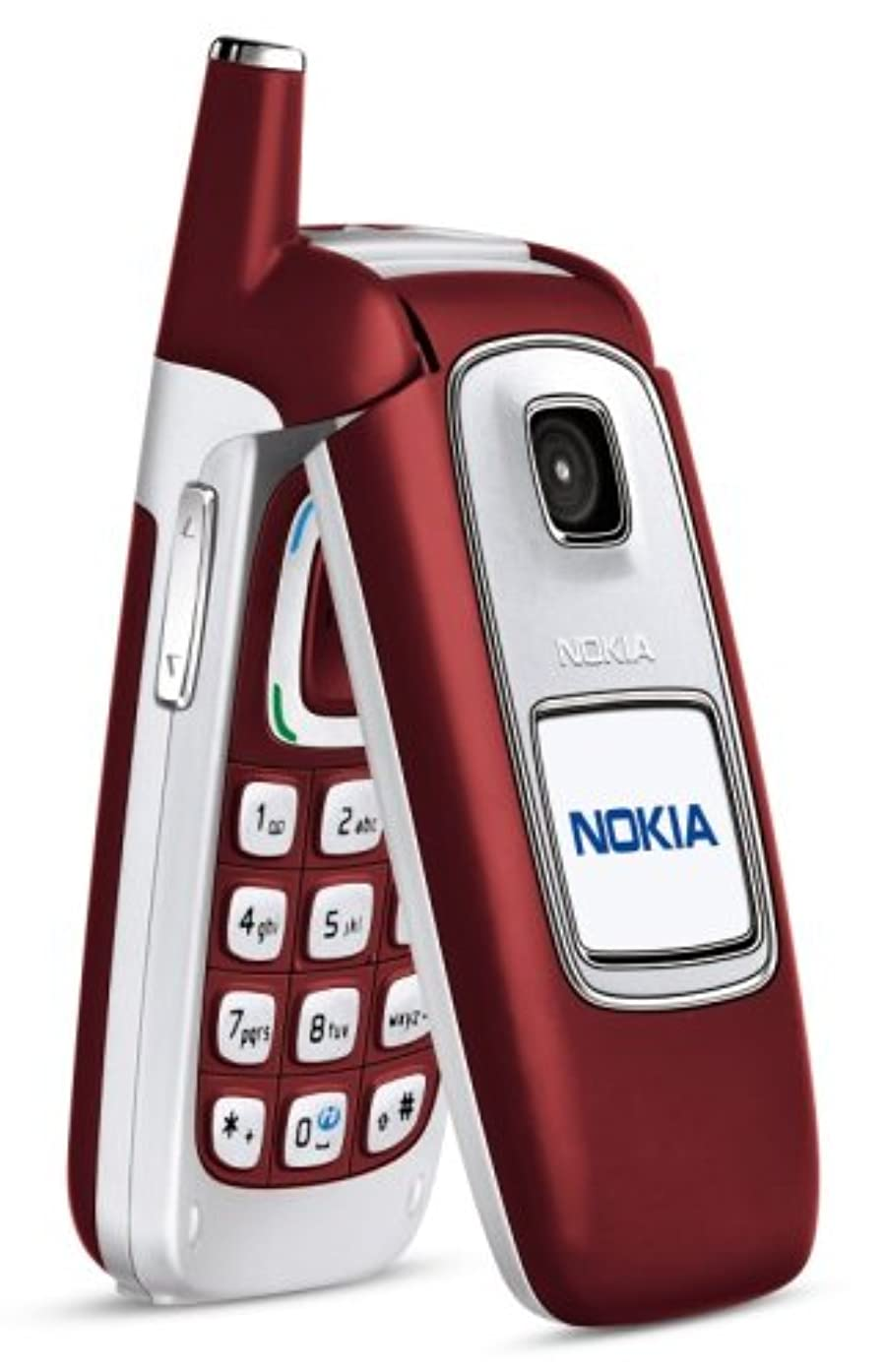 Nokia 6103 Unlocked Cell Phone with Camera--U.S. Version with Warranty (red)