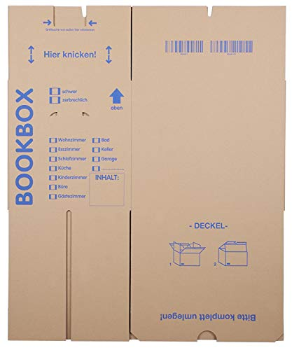 10 Stück Bücherkartons Profi Qualität - 4