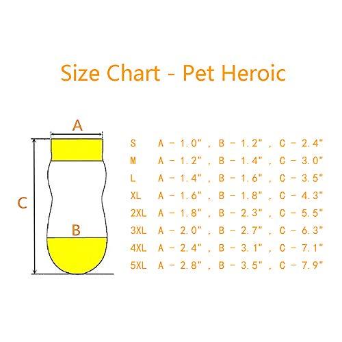 Harfkoko Pet Heroic Anti-Slip Knit Dog Socks
