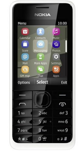 Nokia 301 White Handy