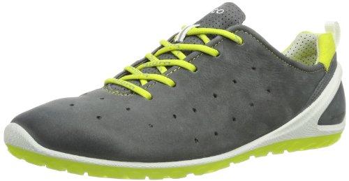 Ecco BiomLite - Zapatillas de Running de Cuero Mujer, Color Negro, Talla 35