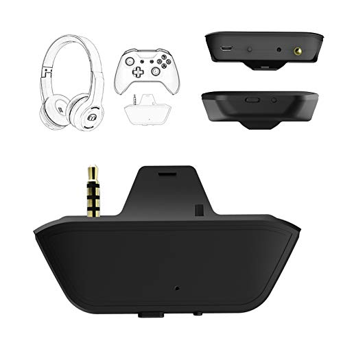 Uberwith Bluetooth Xbox one Transmitter Dongle Stereo Headset Audio Adapter for Xbox One X/S Controller Compatible with Wireless Headset Headphone Speakers Airpods Low Latency