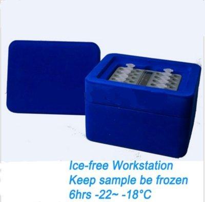 GOWE eficiente hielo Worksation Keep muestras be Frozen