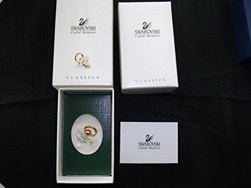 Swarovski Crystal Memories ~ Schnuller oder Schnuller ~ Gold