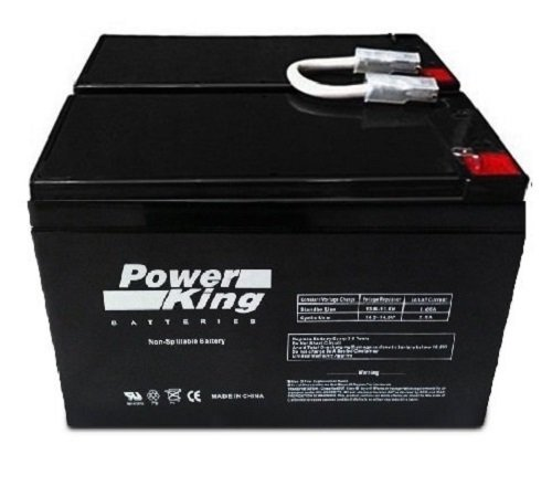 APC BACK-UPS XS 1300VA BX1300LCD REPLACEMENT BATTERY (2) 12V 9.0ah Batteries. (Please Reuse Your Existing Connectors and Wires.) Beiter DC Power