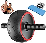 atyun Ab Roller Trainer, Abdominal Core Strength Exercise Roller with Ultra-wide Wheel